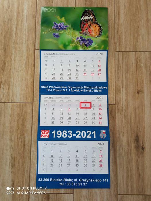 Duży kalendarz 2021 Łodygowice - image 1