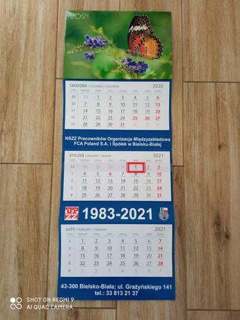 Duży kalendarz 2021