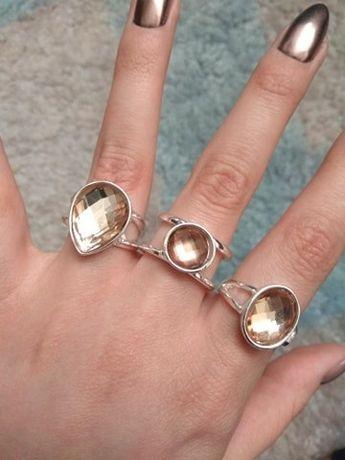 Zestaw 3 pierścionków H&M