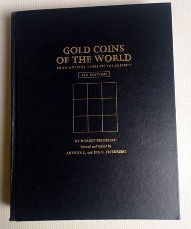 Książka Gold Coins Of The World Friedberg 6 Edycja Złote Monety Świata