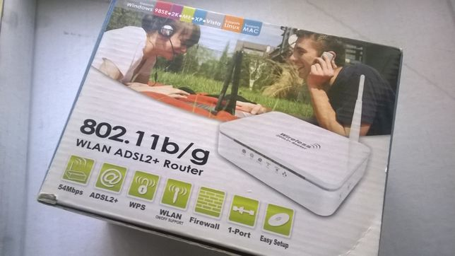 Access Point WiFi (router c/ 1 LAN Fast Ethernet)