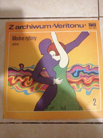 Z archiwum Veritonu modne rytmy retro płyta winylowa