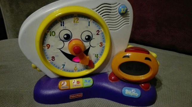 Fisher Price zegar interaktywny zabawka