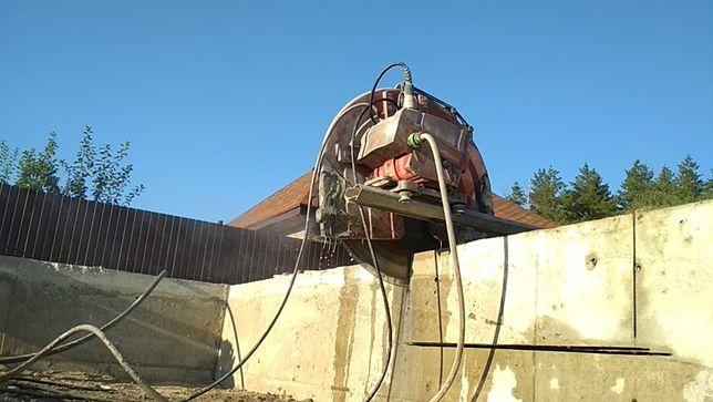 Резка бетона. Резка проемов в бетонных стенах и плите
