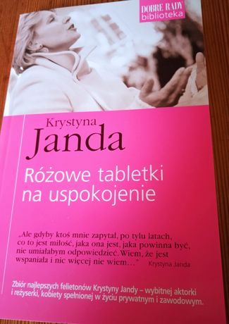 Książka Krystyna Janda - Różowe tabletki na uspokojenie + 2 książki