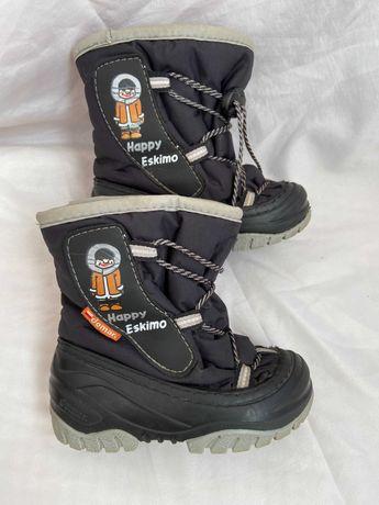 Дитячі зимові чобітки Демар, Сапоги Demar Eskimo 20-21 розмір