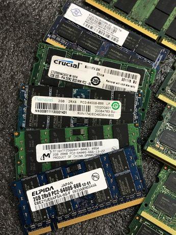 Оперативная память для ноутбука 2Gb DDR2 PC2 6400 800MHz бу