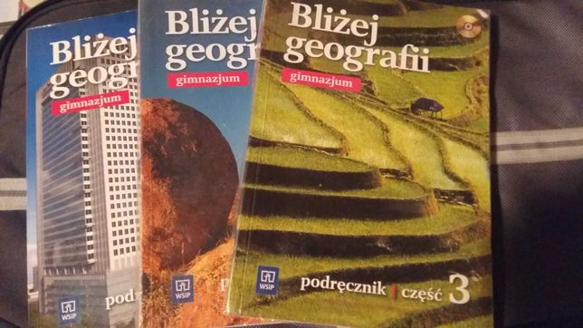 Bliżej geografii. Podręczniki i ćwiczenia do gimnazjum
