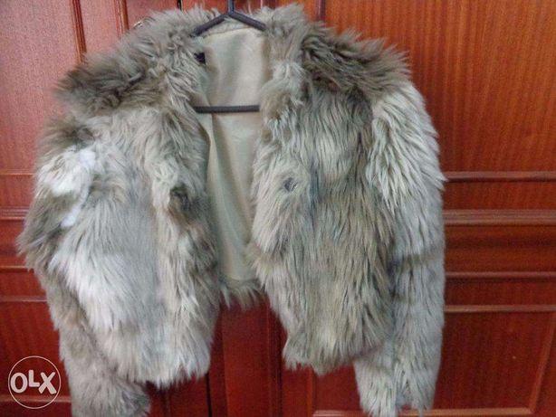 Casaco de pêlo marca valentina original novo