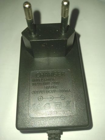 Зарядное устройство 6в 800 мА