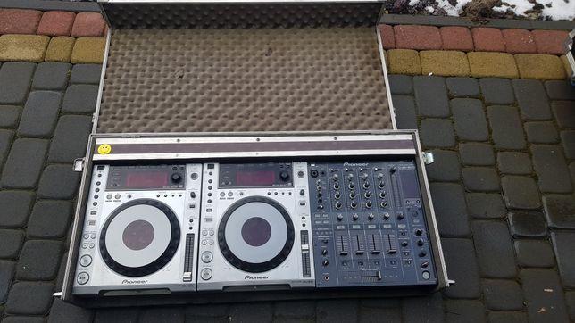 Case 12.p.m. Pioneer CDJ 850 i DJM 800