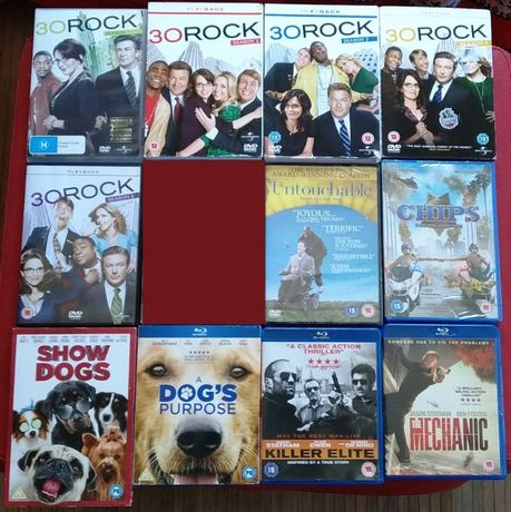 DVD filmes 30 Rock Show Dogs versão inglesa