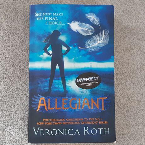 V.Roth - Allegiant książka PO ANGIELSKU angielski books anglojęzyczne