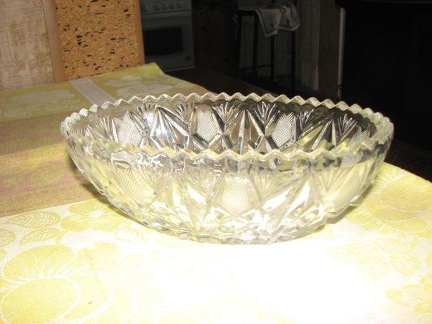 посуда - салатница, хрусталь