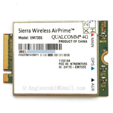 Placa 4G NOVA Sierra AirPrime EM7355 Gobi 5000 4G LTE Module NG