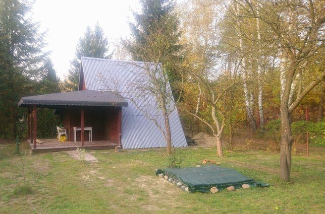 Działka ROD z domkiem Kuleszówka, Piaseczno