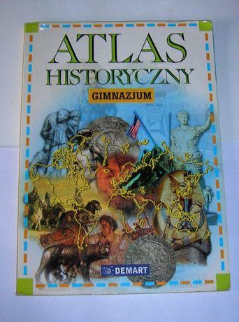 Atlas historyczny Gimnazjum Demart PWN