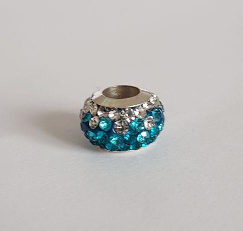 Pandora charms zawieszka niebieska mozajka