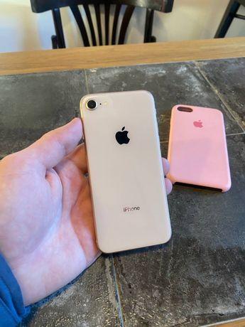 iPhone 8 64Gb Neverlock Rose Gold в отличном состоянии / айфон 8