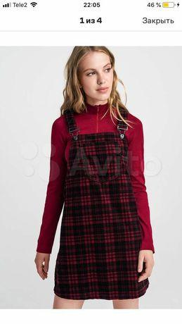Вельветовый сарафан  платье 42р.