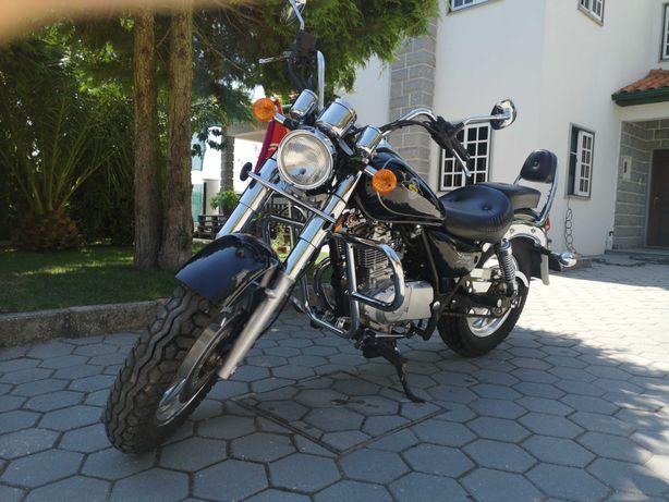 Moto chopper / cruiser I-Moto Dragon II 125cc