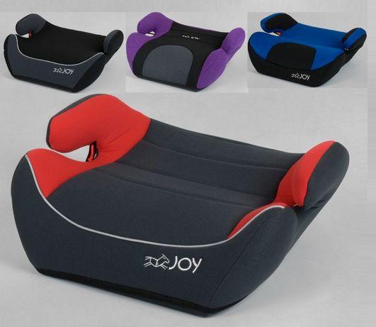 Бустер JOY, 2-3 группа, вес ребенка 15-36 кг, Пластиковый каркас