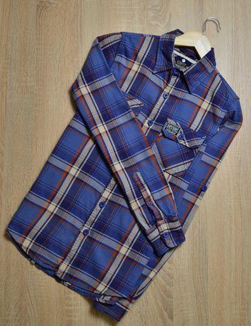 Рубашка в клетку SuperDry (размер S)