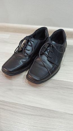 Buty skórzane komunijne