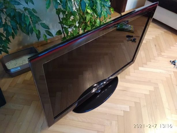 """TV Samsung 46"""" LE46A656 + dekoder + pudełko 100% sprawny"""