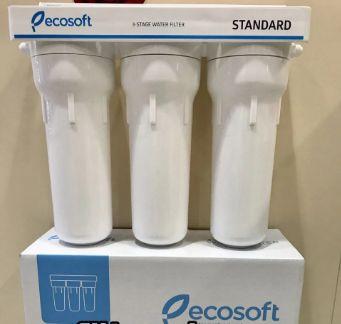 фильтр Екософт (Ecosoft) тройной для воды