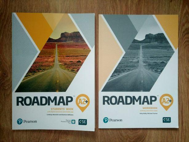 Roadmap A2+ NOWY komplet podręcznik ćwiczenie Student's book Workbook