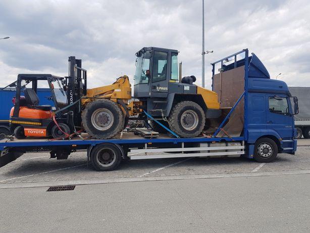 transport maszyn i innych towarów