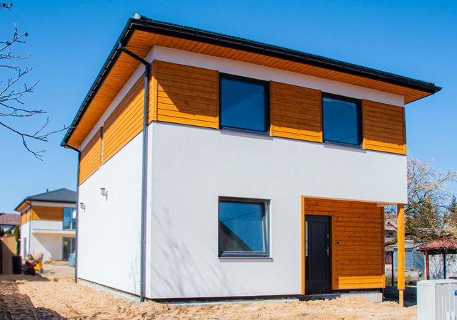 Dom o powierzchni 130 m2 wolnostojący