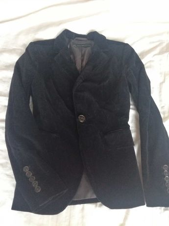 Пиджак бархатный Zara xs