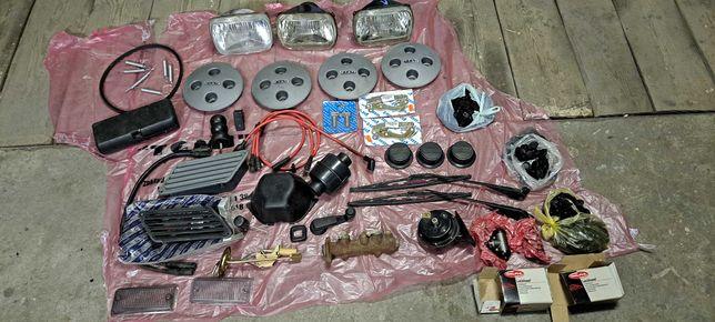 Zestaw części fiat 126p Nowe i używane cena za komplet