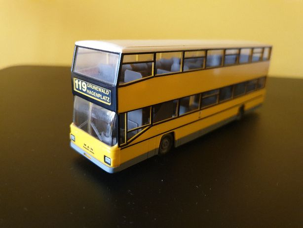 Autobus MAN SD202 - WIKING - 1:87 - Biały kruk