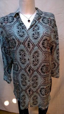 Koszula-tunika z H&M, rozpinana 42-44