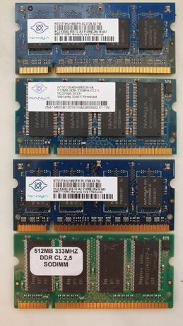 Pamięć RAM 512 - 4szt