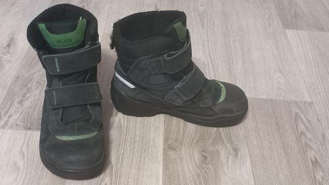 Ботинки-сапоги ECCO для мальчика 35 р.