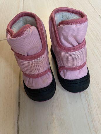 Зимние ботинки для девочки Alisa line