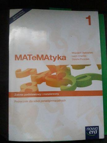 Sprzedam Podręcznik Matematyka 1 zakres podstawowy i rozszerzony