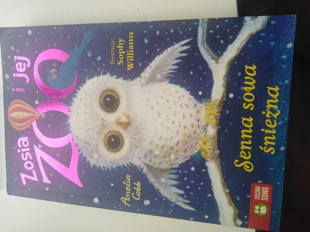 Książka senna sowa śnieżna