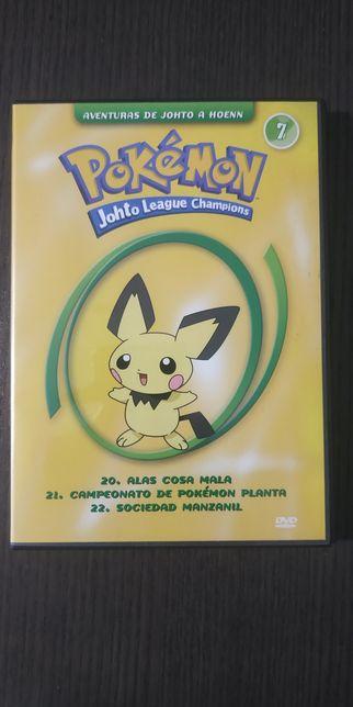 Pokémon Johto League Champions - DVD 7