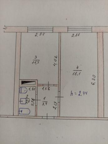 Продам дві кімнати в гуртожитку