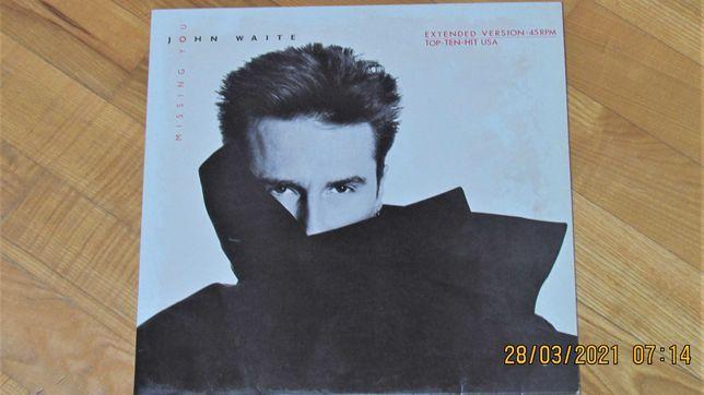 John Waite - Missing You; winyl;  45 obrotów; NM