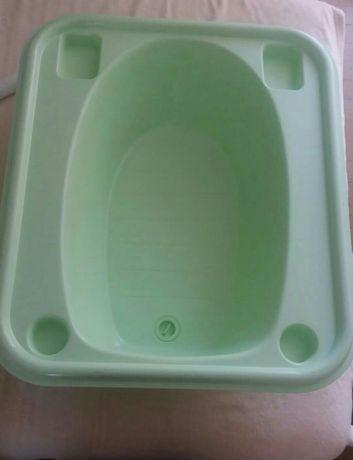 Banheira de bebé verde àgua