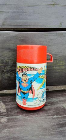 Stary Termos Aladdin Supermen 1978 dla kolekcjonerów