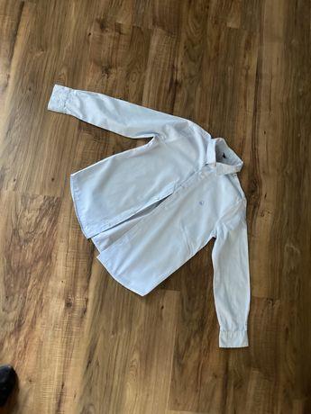 Koszula Biała w paski Rozmiar 128 Benetton