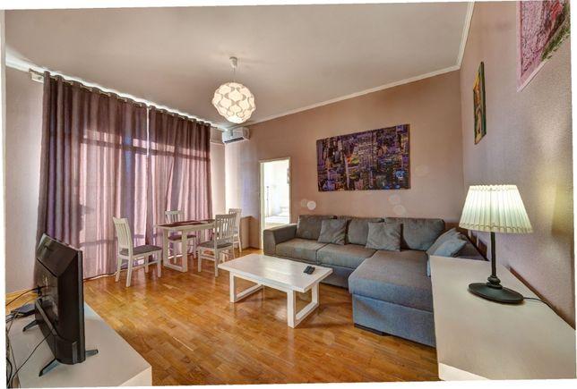 Посуточно 2к квартира в центре на ул Большой Васильковской 29