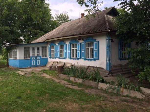 Дом с большим участком в Киевской обл. Обуховский р-н, с.Семенивка